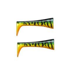Rapala X-Rap Peto Extra Tails - Hot Tiger Pike