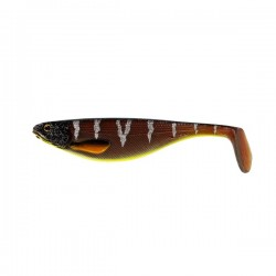 Westin Shad Teez 9 cm - Motoroil Orange Perch