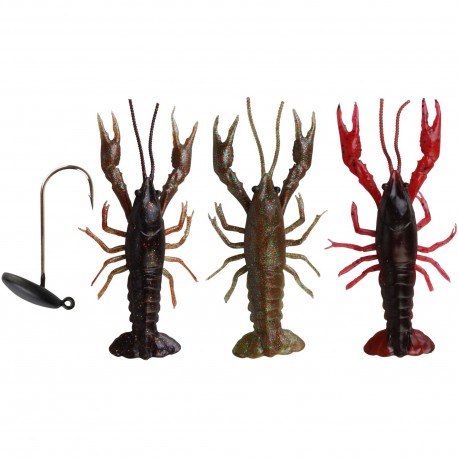 SG 3D crayfish 8cm Kit 3+1