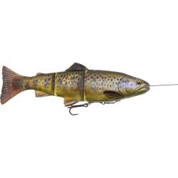 SG 4D Line thru 15cm 35g Slow Sink - Dark Brown Trout