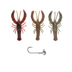 SG 3D Reaction crayfish 7,5cm Kit 3+1
