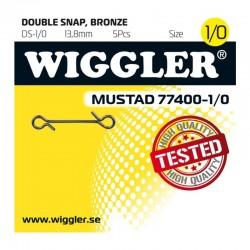 Wiggler Dubbel Snap Bronze