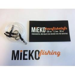 Mieko havsfisketafs Hälleflundra 2-pack