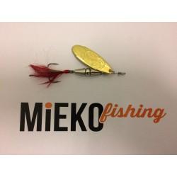 Mieko Kobra Spinnare 10 gr - Silver/Guld