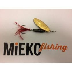 Mieko Kobra Spinnare 10 gr - Svart/Guld