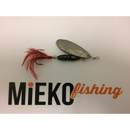 Mieko Kobra Spinnare 10 gr - Svart/Svart
