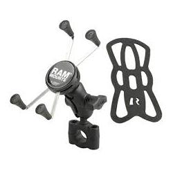 Ram Mount B kula X-Grip för mobiltelefon - Torque Rail Mount