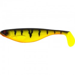 Westin Shad Teez 7 cm - Fire Perch 4-pack