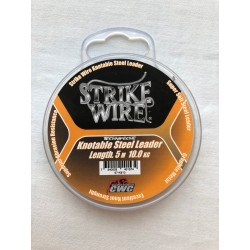 Strike Wire Leader - Knotable Steel Leader 5m 10kg