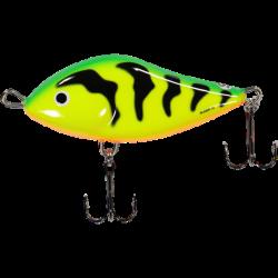 Salmo Slider 10 cm, Sjunkande - Green Tiger (GT)