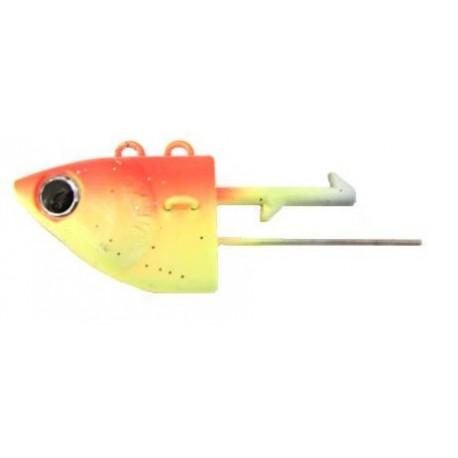 Mieko Predator Jighead 300 gr - Orange/gul