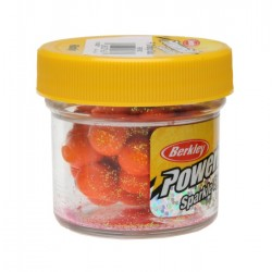 PowerBait Floating Sparkle Power Eggs - Fluo Orange Scales