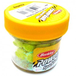 PowerBait Floating Sparkle Power Eggs - Chartreuse Scales