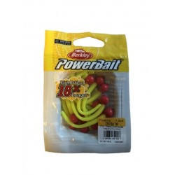 Powerbait Mice Tail - Fluo Red / Chartreuse