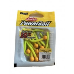 Powerbait Mice Tail - Orange Silver / Chartreuse