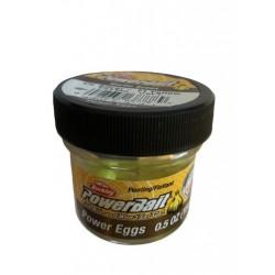 PowerBait Floating Magnum Power Eggs Garlic- Fluo Yellow