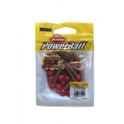Powerbait Mice Tail - Fluo Red / Natural