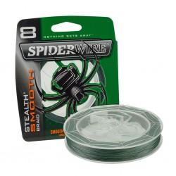 SpiderWire 0,15mm Stealth Smooth braid 8 - Moss Green 150m