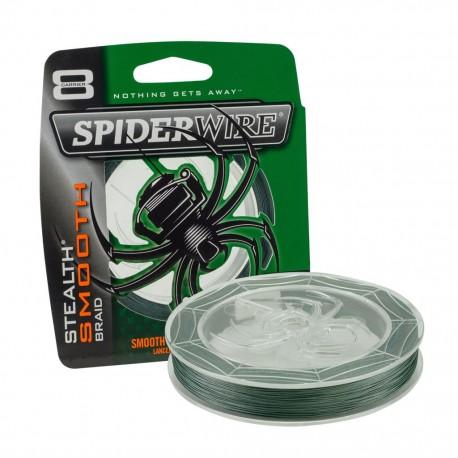 SpiderWire 0,15mm Stealth Smooth braid 8 - Moss Green 150m