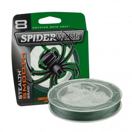 SpiderWire 0,29mm Stealth Smooth braid 8 - Moss Green 150m