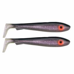 SvartZonker McRubber 21cm - White Fish (2-pack)