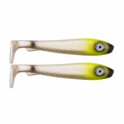 SvartZonker McRubber 21cm - Lemon Head (2-pack)