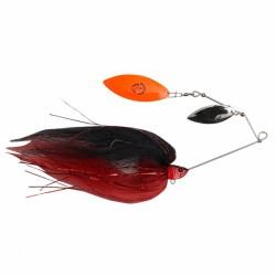 SG Da'Mega Bush Spinnerbait 55g - Black and Red