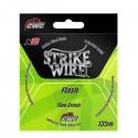 Strike Wire Flash X8 0,10mm 6,5kg 135m - Fluo Green