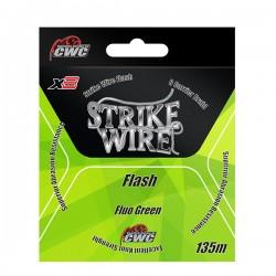 Strike Wire Flash X8 0,12mm 8kg 135m - Fluo Green