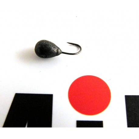 Mormyska Inari, hål i kroppen, volfram, 1,79 gr, antracit