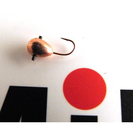 Mormyska Inari, hål i kroppen, volfram, 1,79 gr, koppar