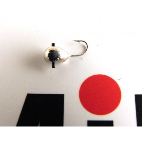 Mormyska Inari, hål i kroppen, volfram, 1,79 gr, silver