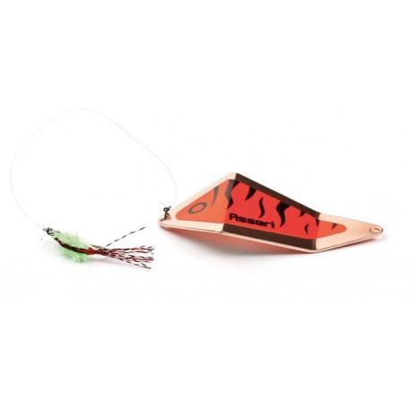 Asseri Rödingblänke med fluga 65 mm - Koppar/Röd