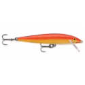 Rapala Original Floating 9cm Gold Fluorescent Red