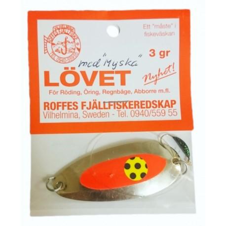 Roffes Lövet 3 gr - Silver