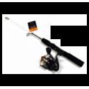 Rovex Teleskopiskt Pimpelset 32/50 cm med haspelrulle