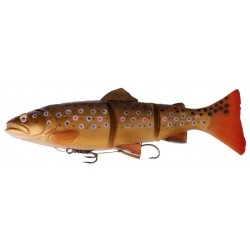 Savage Gear 3D Line Thru Trout 15 cm MS - Dark Brown Trout
