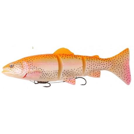 Savage Gear 3D Line Thru Trout 15 cm MS - Golden Albino Rainbow