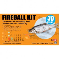 Savage Gear Fireball Pro Pack Kit