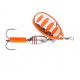 Savage Gear Rotex Spinner, fluo orange silver, 5,5 gr