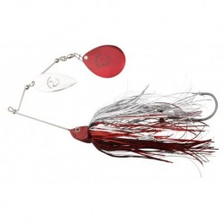 Spinnerbait Savagear Da Bush 3, Red Silver Flash