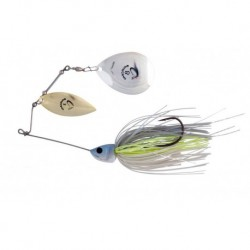 Spinnerbait Savagear Da Bush 4, Blue Silver Shad