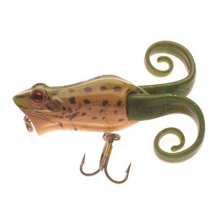 Berkley Frenzy Pop Frog 6 cm - Leopard Frog