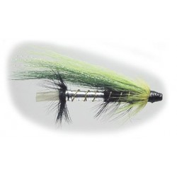 Tubfluga 25 mm - Grön/Svart