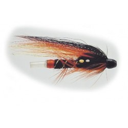 Tubfluga 25 mm - Svart/Orange/Röd/Gul