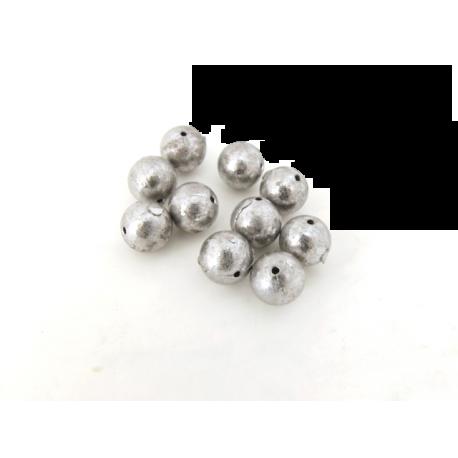 10-pack kulbly med hål, 4 gr