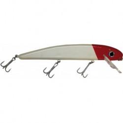 Wobbler Pike Madame 26 cm, Red/White