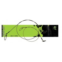 """BFT Nylon Coated Wire Leader 18"""" 60 lb"""