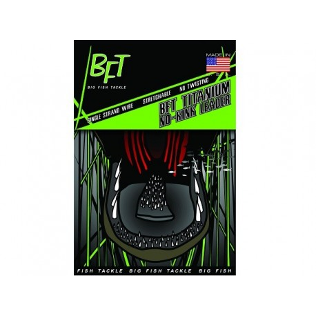 BFT Titanium No-Kink Leader 40 lb