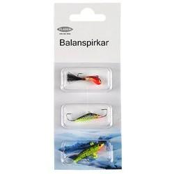 Fladen Balanspirkar 3-pack